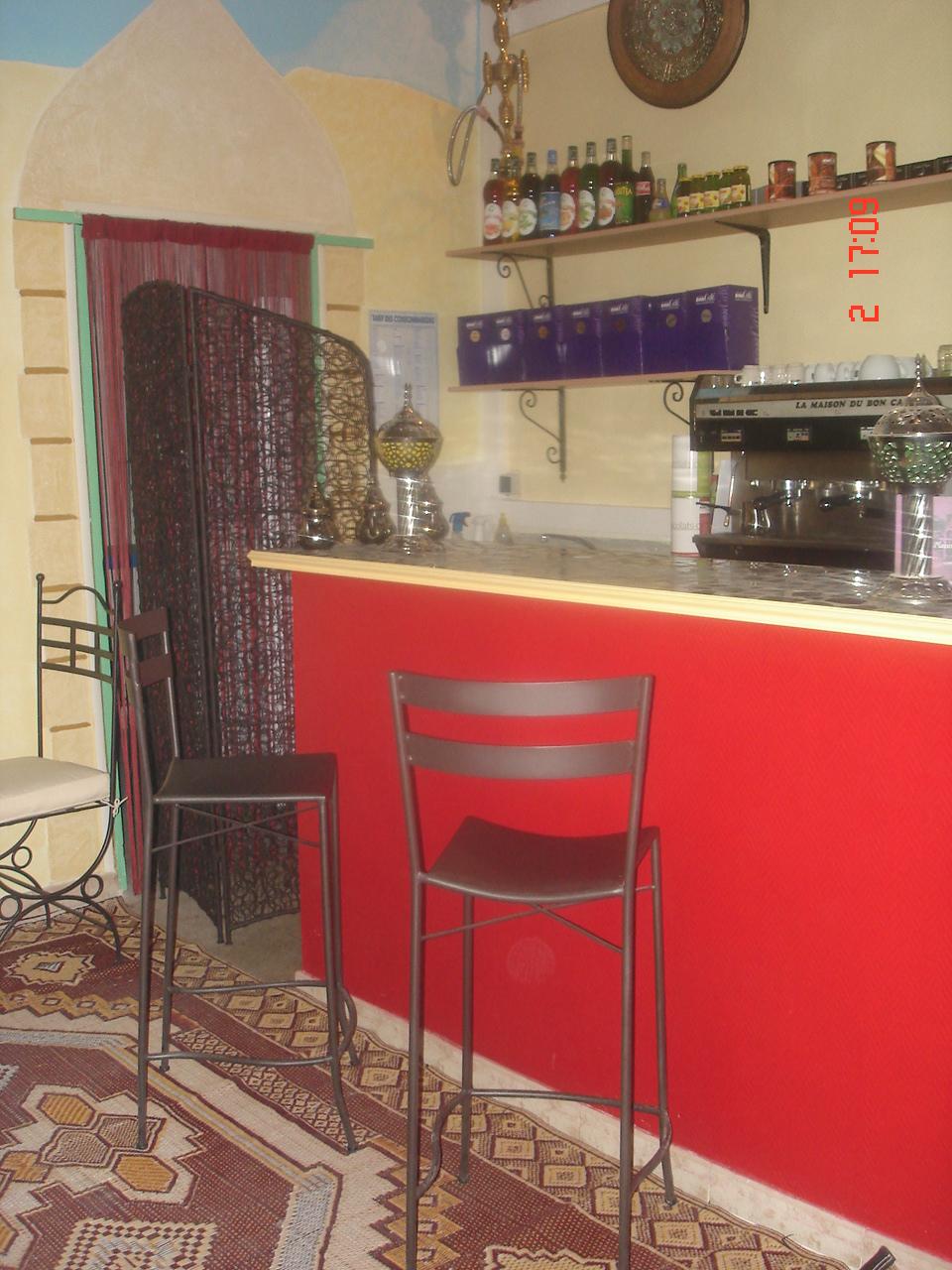 Salon de th chicha sur arles 13 la kasbah th a la for Salon arles
